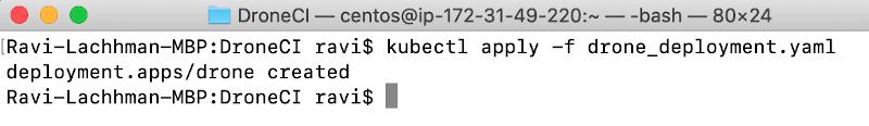screenshot deploy deployment
