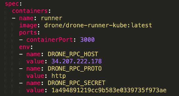 screenshot runner deployment specs