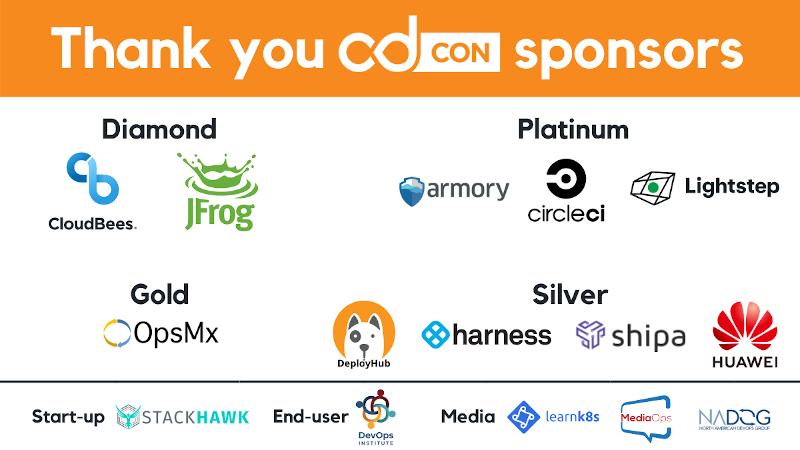 CDCon Sponsor list