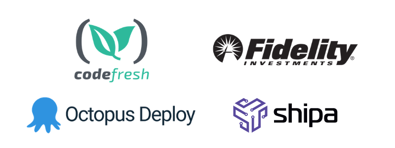 new members: codefresh, Fidelity, Octopus Deploy, and Shipa