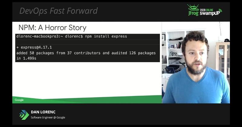 dan lorenc slides DevOps Fast Forward