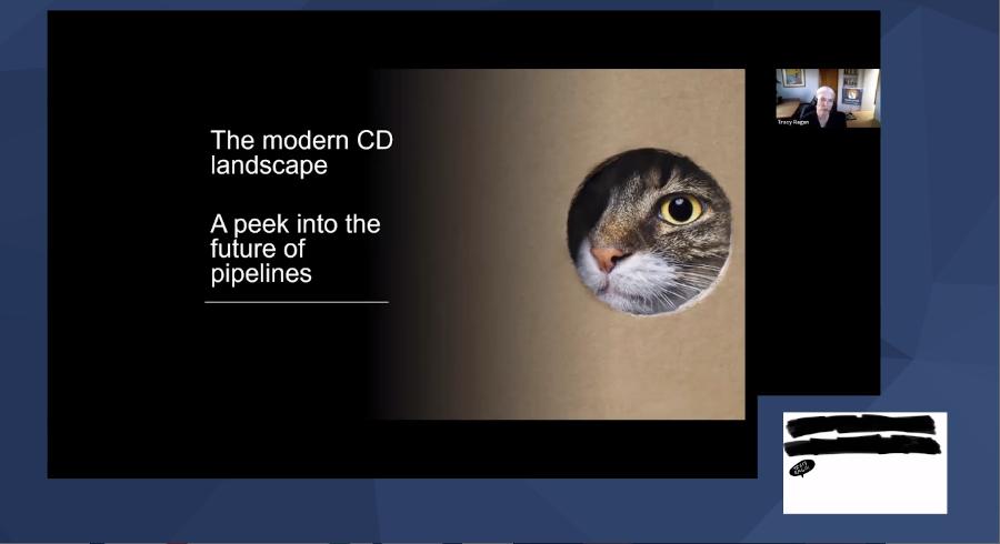 modern cd landscape slide