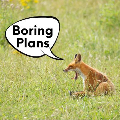 boring plans