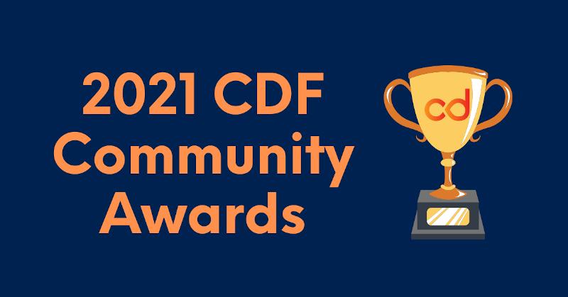 community award banner
