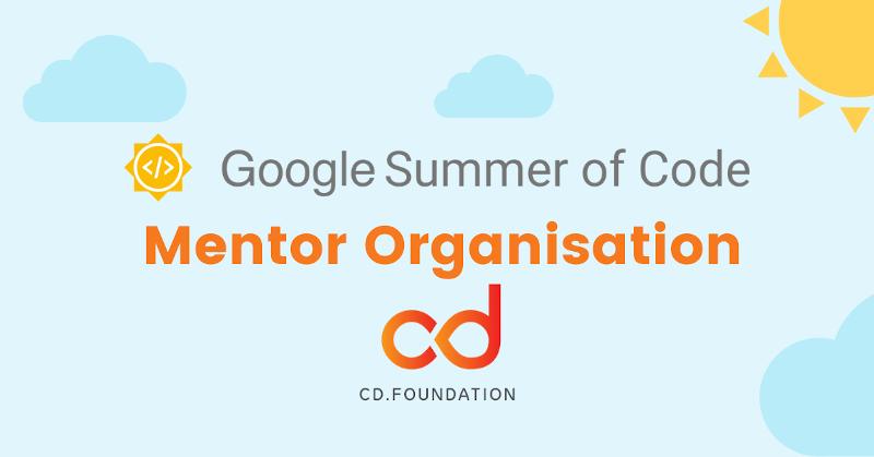 GSoC Mentor Organisation CDF banner
