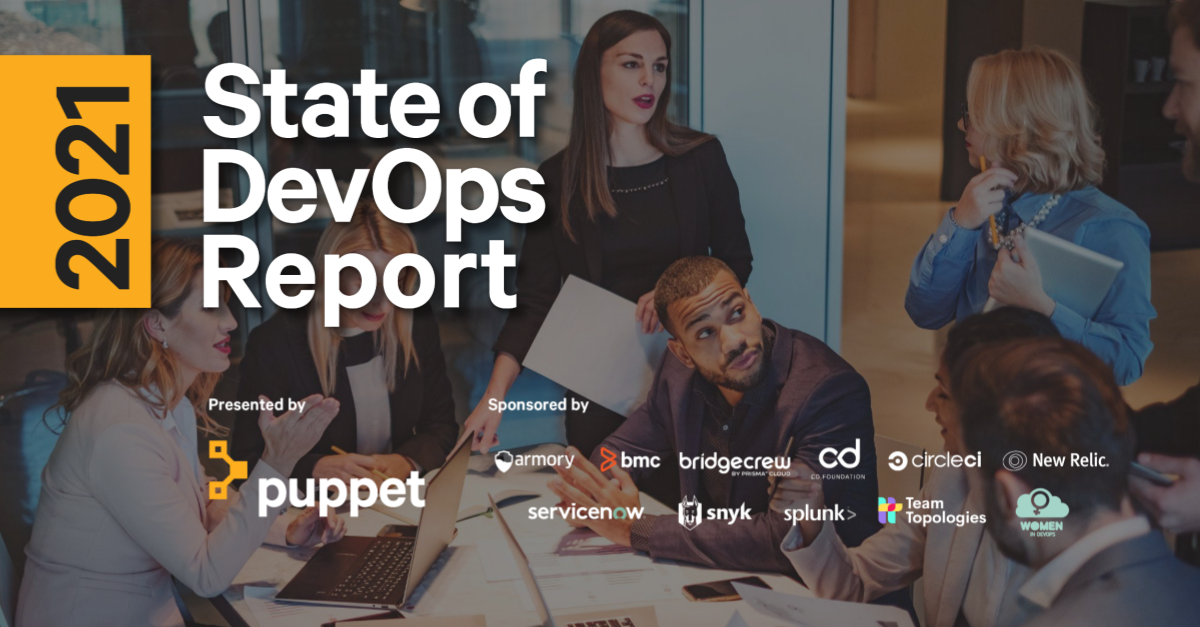 Puppet 2021 State of DevOps Report