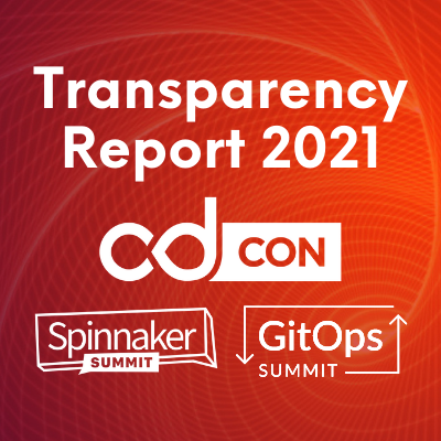 cdcon 2021 transparency report