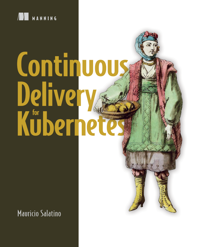 Continuous Delivery for Kubernetes Book Cover